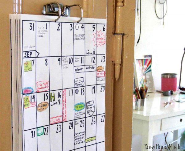 Календари планеры своими руками