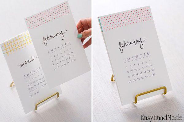 Миниатюрные календари