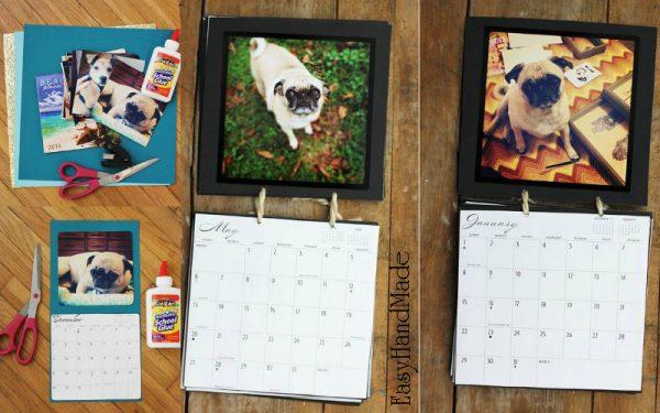 Отрывные настенные календари своими руками