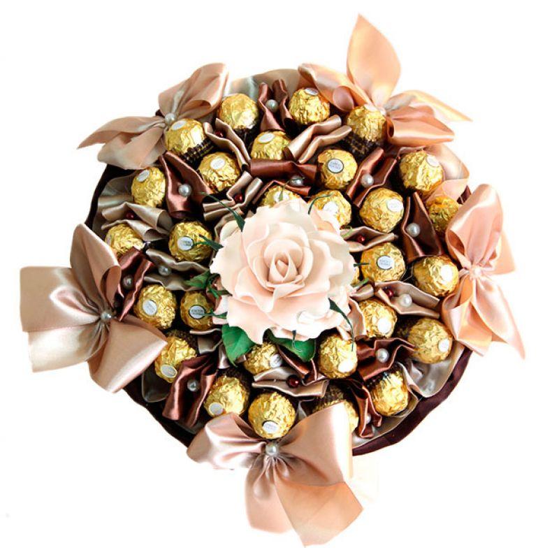 Букет из конфет: 4 идеи изготовления