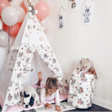 Как сделать вигвам для детей: 3 варианта