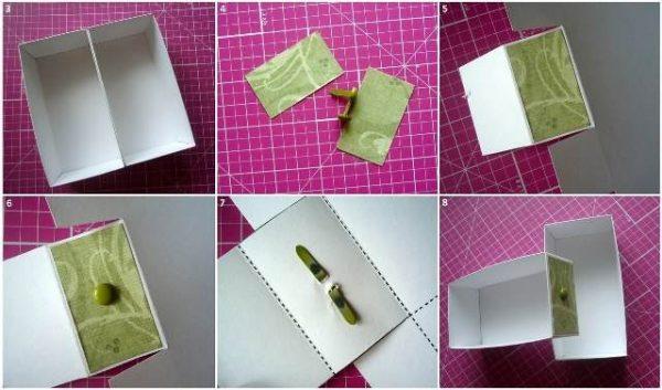 Изготовление картонной шкатулки