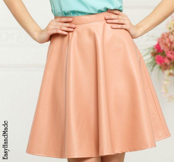 Как сшить юбку полусолнце своими руками