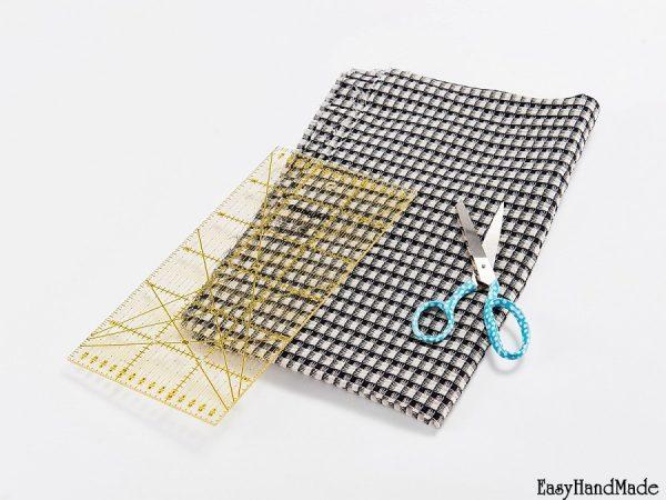 Материалы для стеганого шарфа