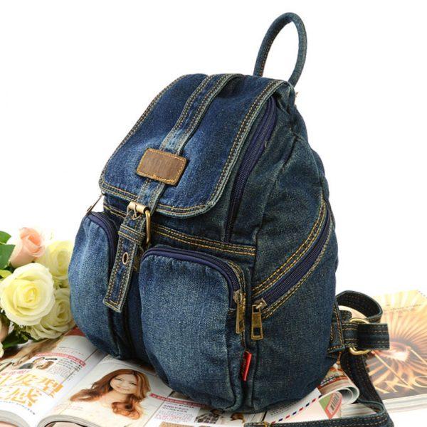 Как сшить сумку из джинсов