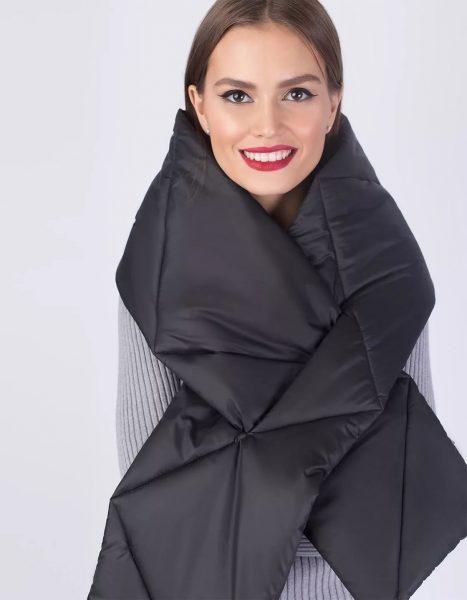 Темный шарфик