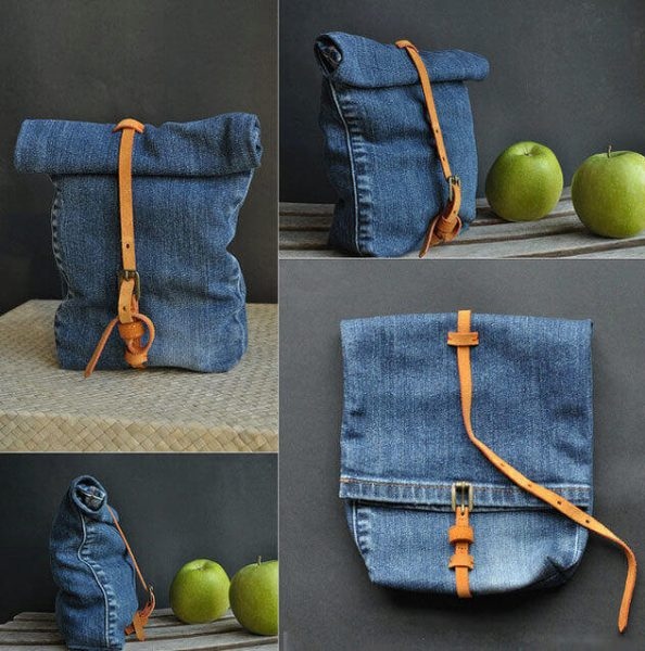 Як зшити сумку із джинсів