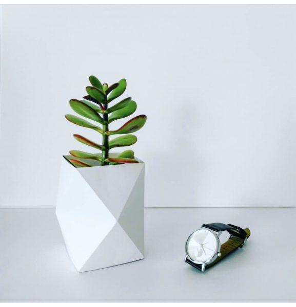 Ваза в стиле оригами
