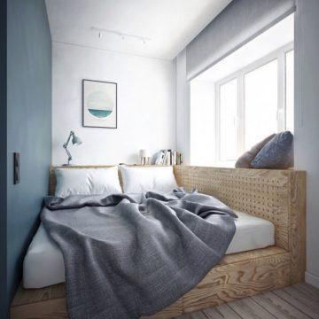 Нестандартная кровать подиум своими руками
