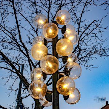 Как сделать уличный фонарь своими руками