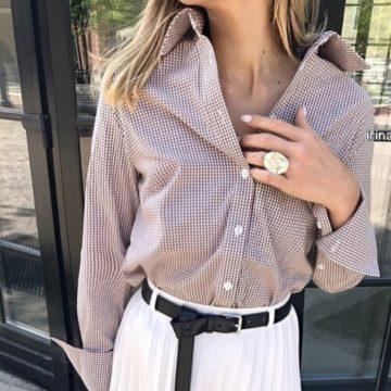 Интересные идеи, как сшить рубашку женскую