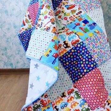 Создаем уютное одеяло в технике пэчворк