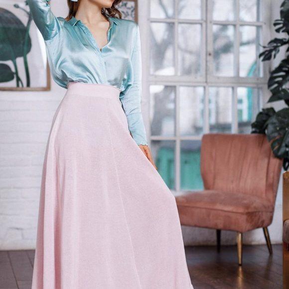 Длинная юбка своими руками: мода на миди