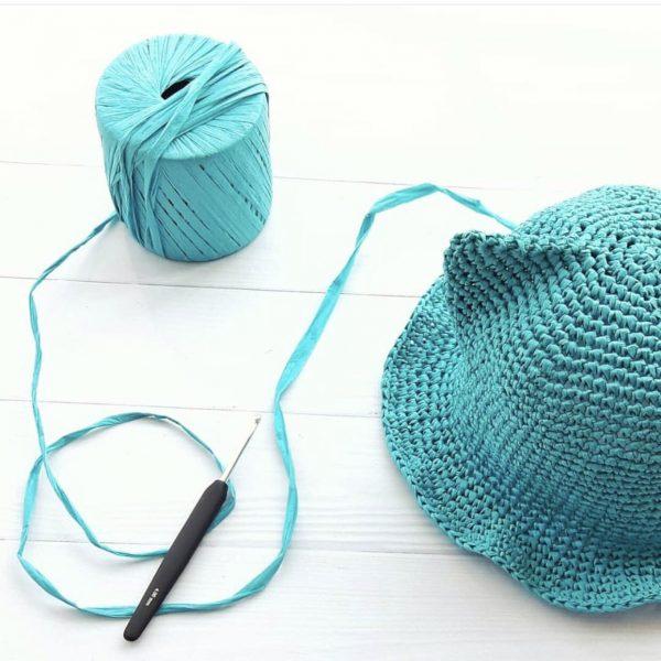Как сплести шляпку крючком