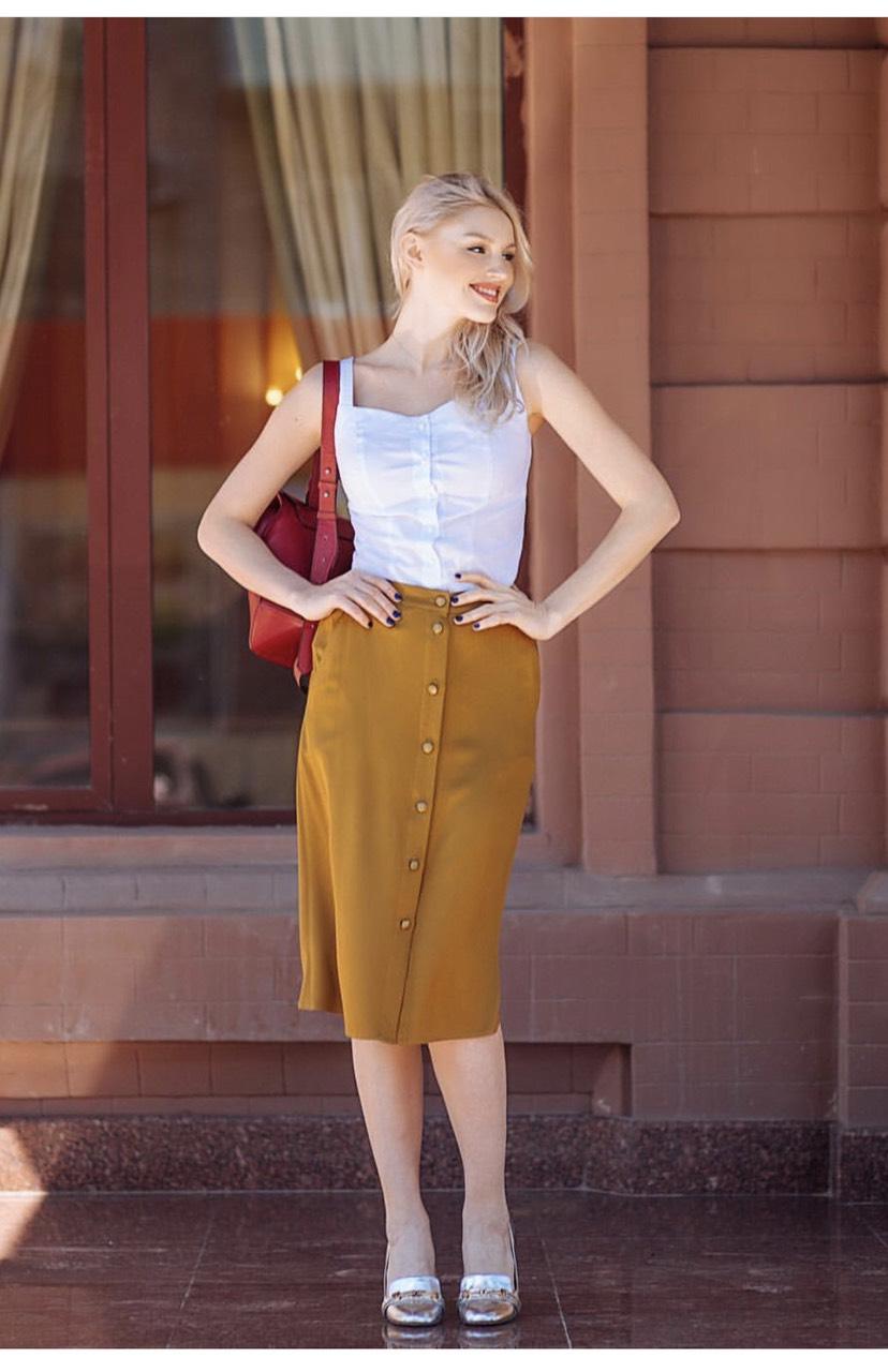 Идеи, как украсить юбку своими руками