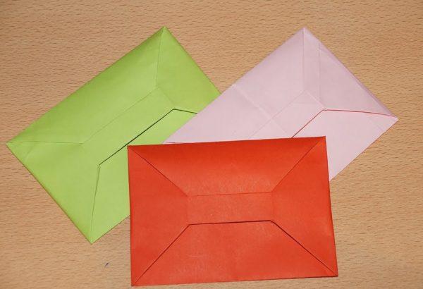 Бумажный кошелек своими руками