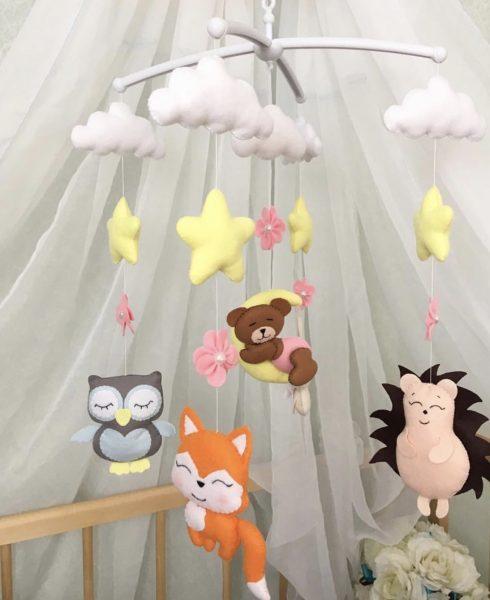 Мобиль для детского садика