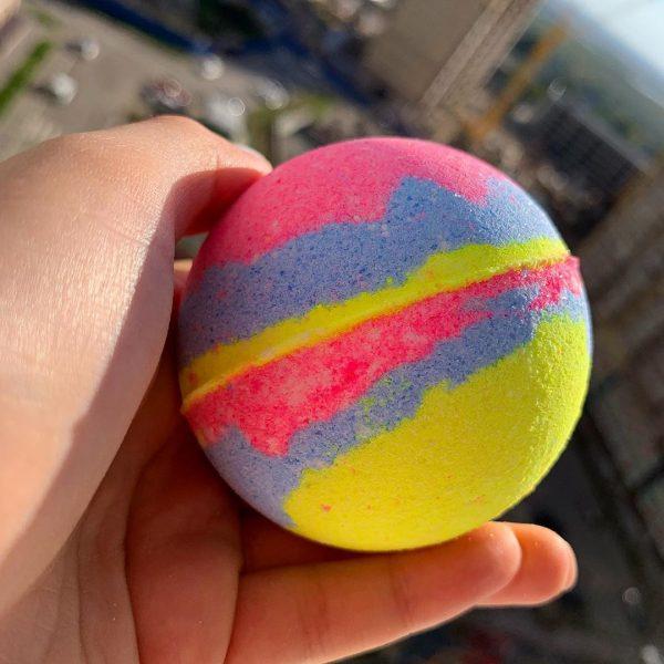 Разноцветные бомбочки своими руками