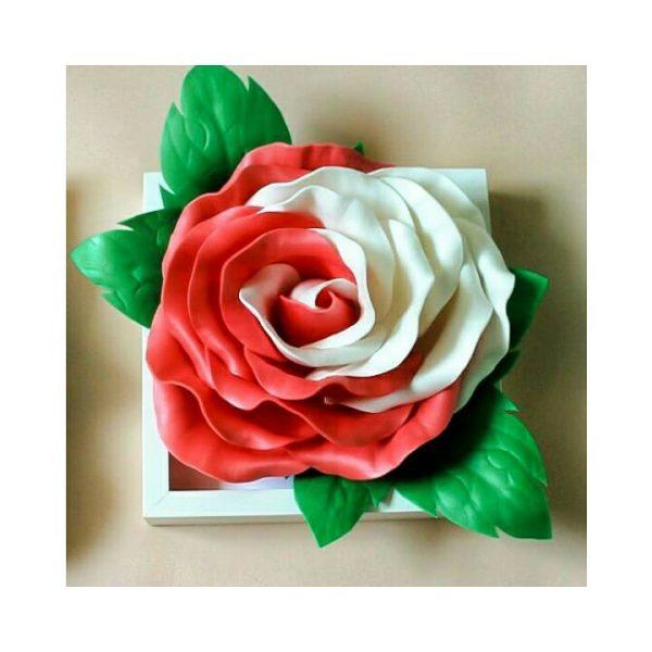 Роза в стилі 3Д