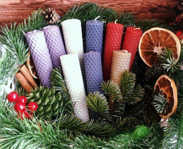 Рождественнские свечи