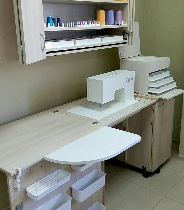 Швейный стол своими руками: мастер-классы