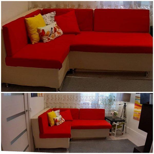 Как сделать угловой диван