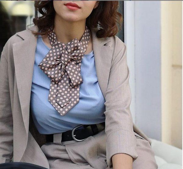 Женский галстук своими руками