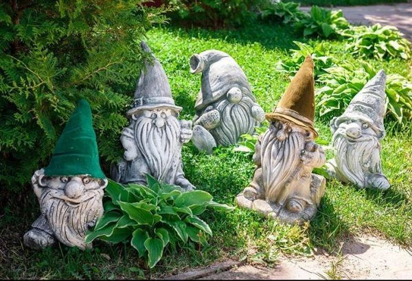 Садовые гномики своими руками