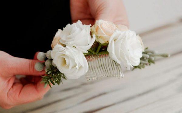 Весільна шпилька своїми руками