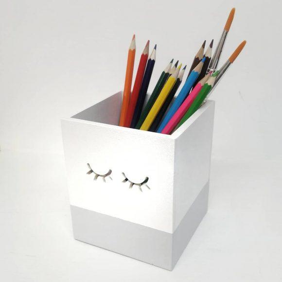 Оригинальная карандашница своими руками