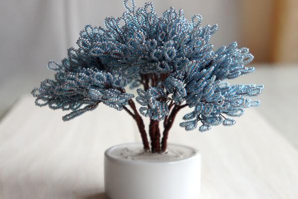 Дерево з бісеру своїми руками