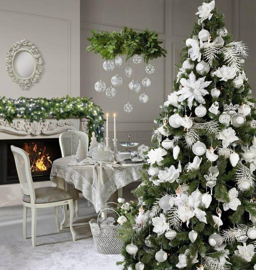 Как украсить елку 2021 в год Белого Быка