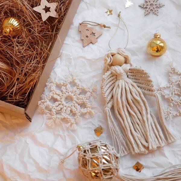 Как сделать ангела на Новый год