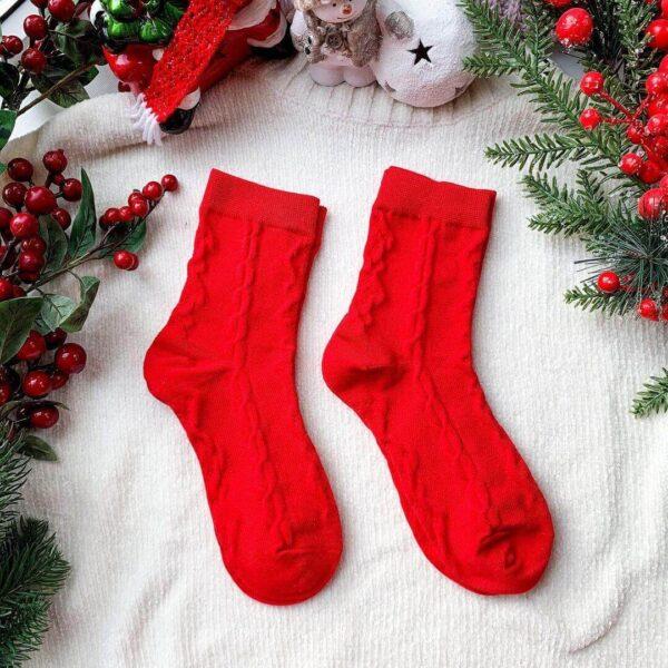 Шкарпетки з старого шарфа