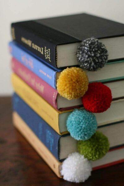 Закладки для книг своїми руками з ниток