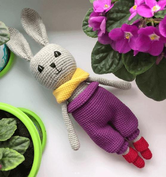 Пасхальный кролик своими рукам