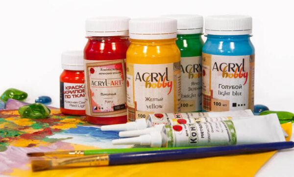 Акрилові фарби для малювання