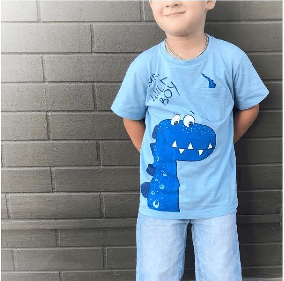 Розпис дитячої футболки